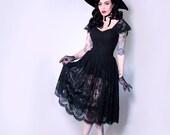 IN-STOCK - Southern Gothic Skirt - La Femme en Noir