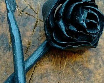 Hand Forged Rose