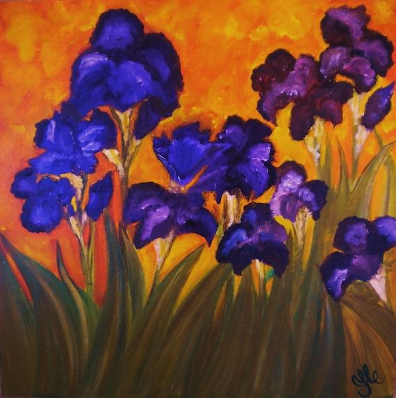 Irises in Motion