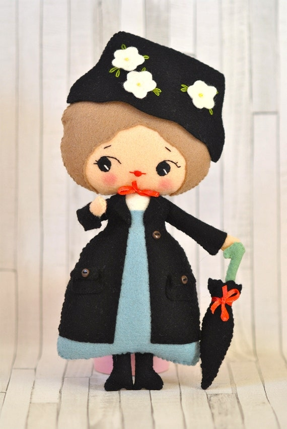 Toys For Mary Poppins : Mary poppins doll magic nanny collectible plush toy gift