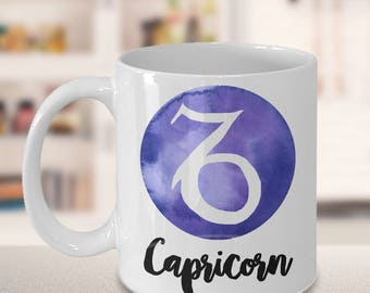 Capricorn Mug - Capricorn Gifts - Zodiac Mug - Horoscope Coffee Mug - Birthday Mug - Astrology Gift - Metaphysical, Celestial, Astrology