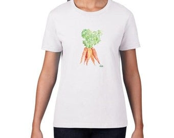 Carrots Horsey T-SHIRT Great gift for Horse and Pony lovers! Equestrian gift Horsey apparel By The Bit!
