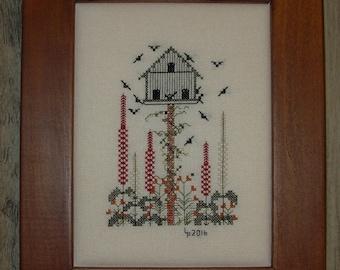 Cottage Garden Bouquet Cross Stitch