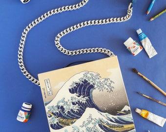 "Handbag ""The Great Wave off Kanagawa"""