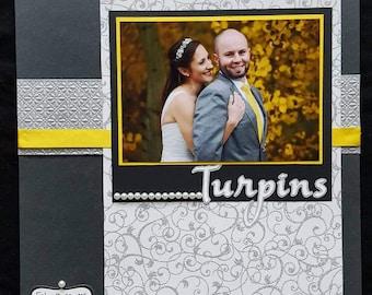 Custom Wedding Scrapbook Album