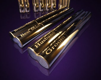 10 Groomsmen gifts  - 10 Engraved cigar cases - Gifts for him - Personalized Cigar holder - Personalize gift - Wedding gifts - Custom made