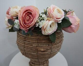 Floral Crown 'Peggy Sue'