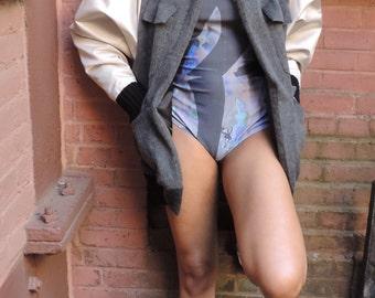 Wild print bodysuit