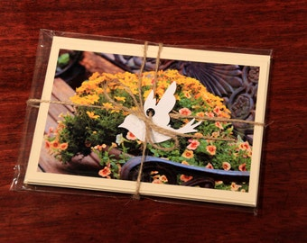 Garden Flowers Note Card Pack