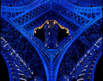 Eiffel Tower Chinchilla - 1 of 30 copies - limited edition