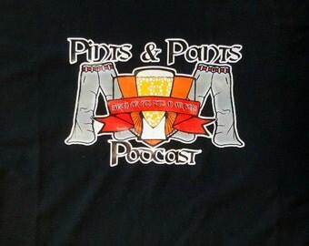 Pints & Pants Podcast Shirt