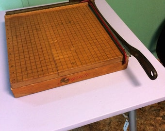 Vintage Paper Cutter Ingento Brand Number 4 from the 1950's