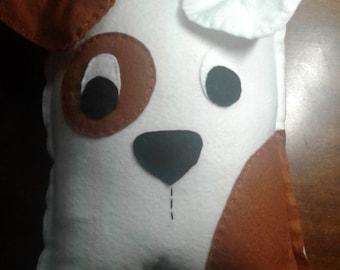 Puppy  decorative pillow plushie  dog pet