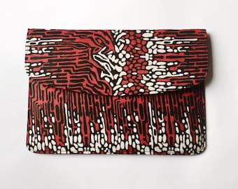 Ankara Bark Laptop Sleeve // African Print