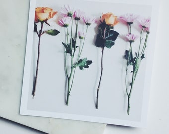 Picked Some Flowers 5.5x5.5 Print