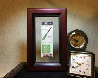 LNER Hotels Framed Matchbook