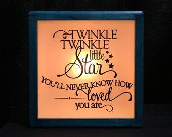 Twinkle Twinkle Little Star Night Light