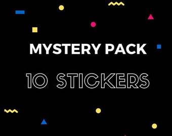 Mystery Packs: 10 Random Stickers