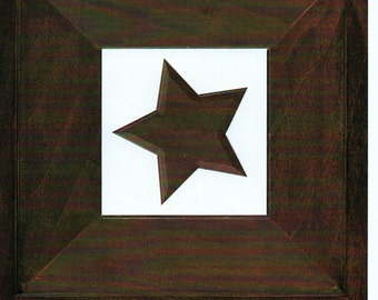 Maple Cardstock Frame My Mind's Eye This & That Scrapbook  Embellishments Cardmaking Crafts