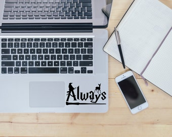 Harry Potter Always decal, Harry Potter decal for laptop, car, macbook, wall 6