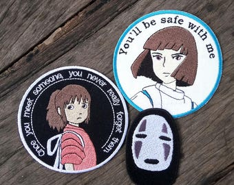 Combo Set of Spirited Away - Iron on patch