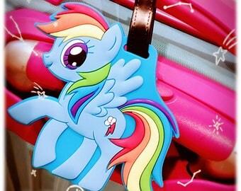 Rainbow Dash - The Little Pony Luggage Tag