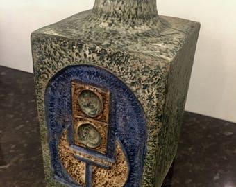 Troika Pottery Lamp Base by Penny Black