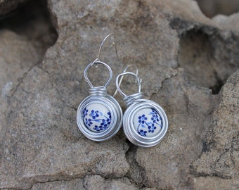 "The ""Spring"" Collection Dangle Nest Earrings"