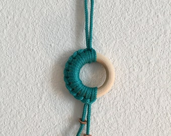 Small Teal Dream Catcher