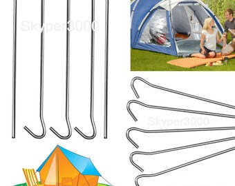 5-Pack tent herring herring Earth nail tent peg tent peg - length 23 cm galvanized