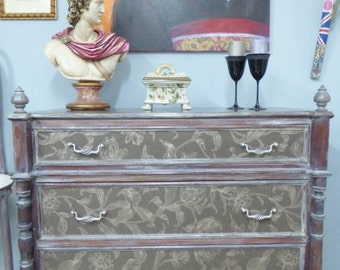 Cabinet decorated comfortable LA TOSCANA