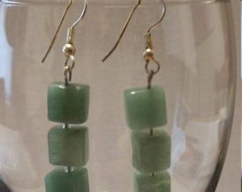 Green Adventurine earrings