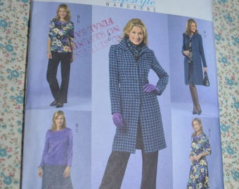 Butterick 4619 Misses / Misses Petite Jacket Top Skirt and Pants Sewing Pattern - UNCUT - Size 16 18 20 22