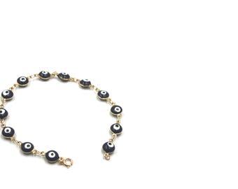 Evil Eye Bracelet / Lucky Bracelet / Evil Eye Jewelry / Gifts for Her / Tailsman