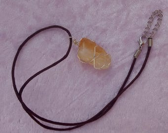 Citrine Necklace.