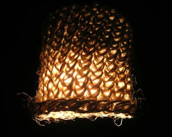 Suspension light sisal