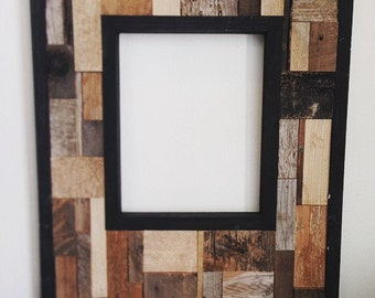 Reclaimed Wood Frame Wall Hanging
