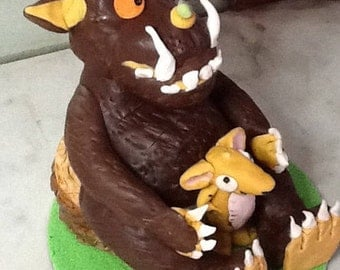 Gruffalo cake topper birthday decoration