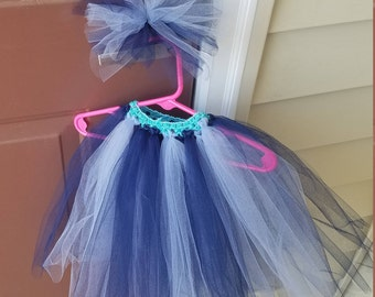 Tutu with matching hair clip
