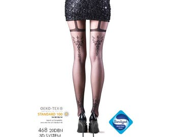 Luxurious ladies tights 468, ladies stocking