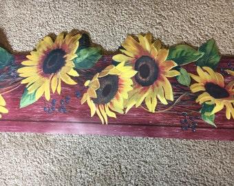 Sunflower Wallpaper Etsy