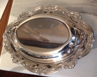Gorham silver dish original