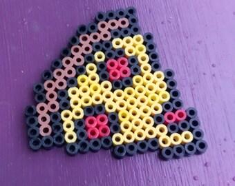 Pizza Perler Bead Art