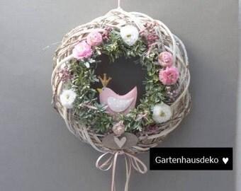 Wreath * bird * door wreath