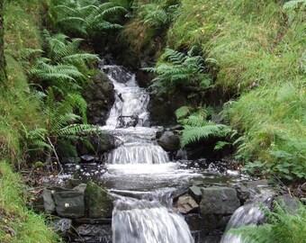 Water Fall Lakes District  - UK