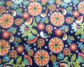 Primitive floral pillow case,flannel,cozy,VT made