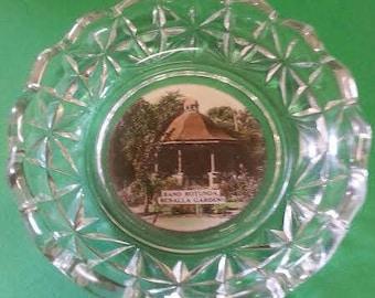 Vintage Benalla Souvenir Glass Dish