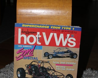 HOT VWs Vintage 1990s Magazine October 1991 Volkswagen VW