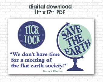 Tick Tock Save the Earth