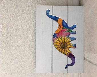 Flower Power Dino's